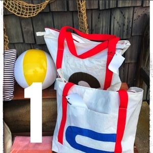 Handbags - Large Beachbag made of 100% Recycled Racing Sails!